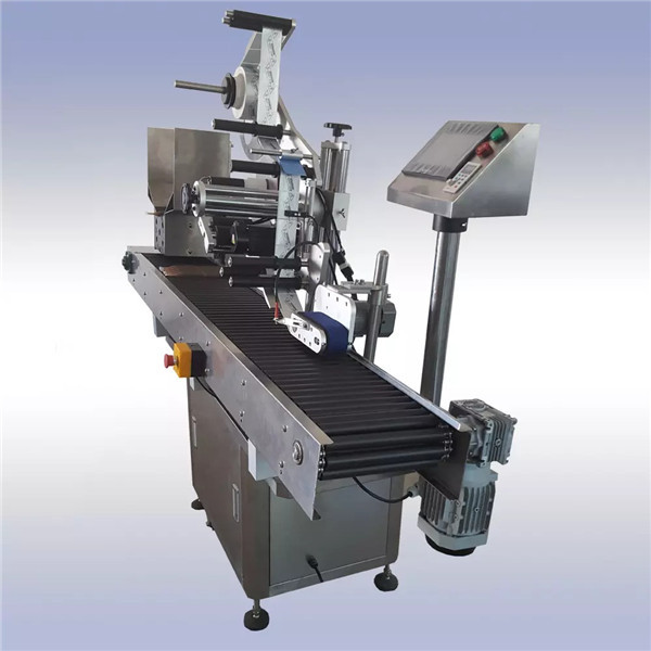 Adhesive Automatic Sticker Labelling Machine Imported Control Motor