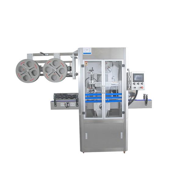 Cap Sealing Stainless Steel Shrink Sleeve Makîne Bi Generator Steam