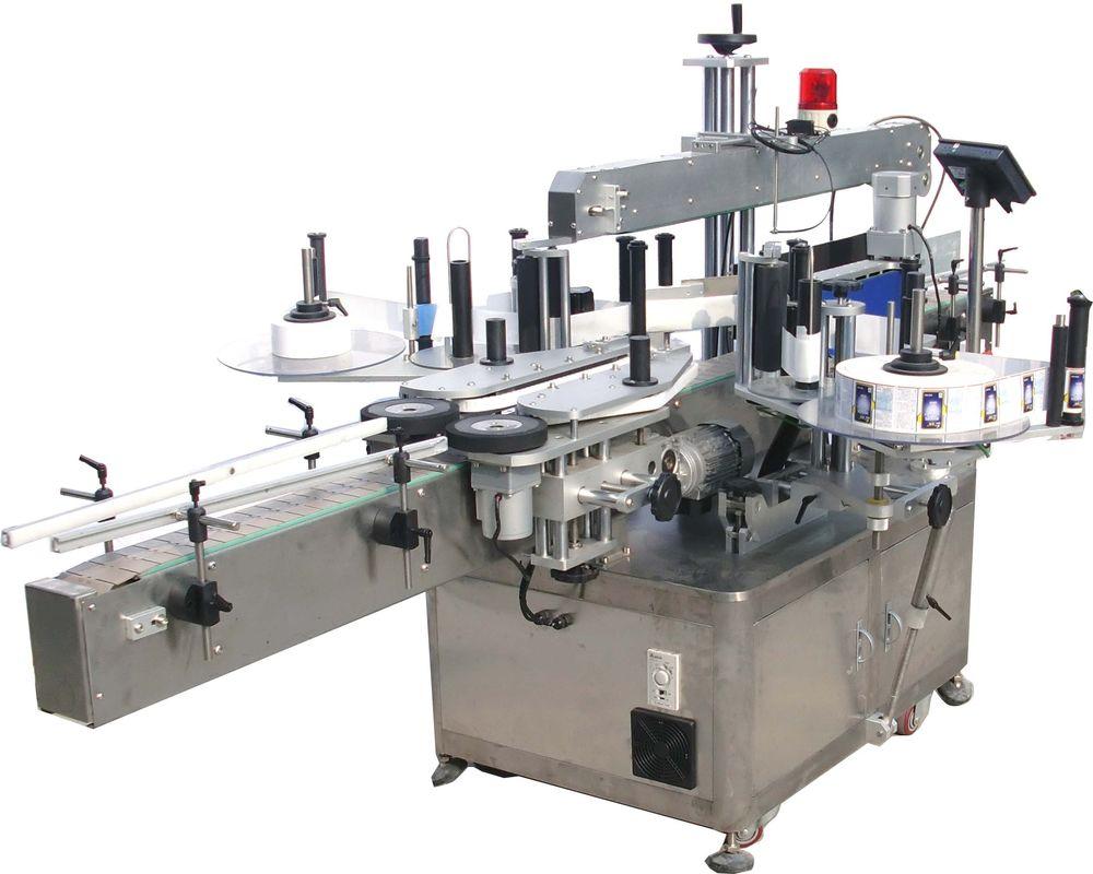 Leza Bilind a Duçar Side Hydraulic Oil sticker sticking Machine