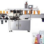 Double Side Sus304 Stainless Steel Sticker Label Machine